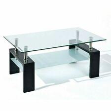 Table basse en verre salle à manger pour la maison