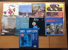 9 1960s Vinyl Records, Classical, Musical Soundtrack, Ballet, Spanish, Swan Lake