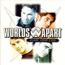 CD Single WORLDS APARTClose your eyes 2-track CARD SLEEVE   ☆