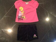 Juicy Couture Nuevo Y Original Bebé Niña Top Shorts 6 años/12 MESES & Logo