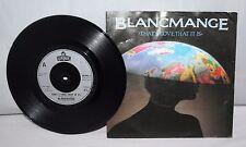 "7"" Single - Blancmange - That's Love, That It Is - London BLANC 6 - 1983"