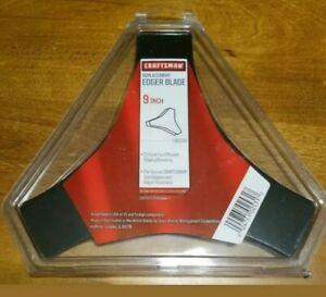 NEW Craftsman Edger Blade 9 set of 2  blades OEM 71-85716  3-Point