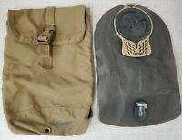 USMC Filbe Hydration Pouch with Camelbak Bladder Coyote Tan R11D