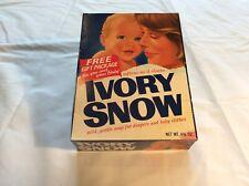 Vintage Ivory Snow Unopened Box 4 3/4 Oz.