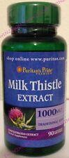 Milk Thistle Extract 1000mg Antioxidant Anti-Inflammatory 90 Softgels
