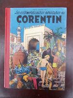Paul Cuvelier - Les extraordinaires aventures de Corentin - Rééd.  1953 - TTBE!!