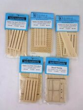 More details for banta modelworks s scale model kit scenery stair stringers & roof vents bundle