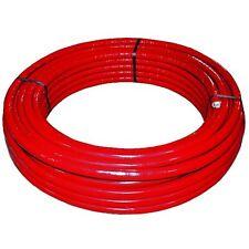 HENCO Rotolo 50 mt. tubo multistrato 20x2 preisolato rosso PE-Xc/AL/PE-Xc