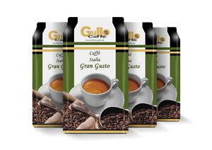 Gullo Italia Gran Gusto  4x 1 kg Kaffee Bohne