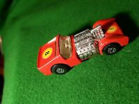 Vintage Matchbox Superfast Road Dragster No.19 Boxed 7.5cm In Length 1970 8