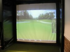 Protee Golf Simulator Complete Package/TGC/Camera/Computer 10 x 12 x 10*CUSTOM*