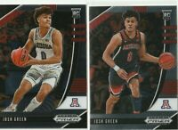 2020-21 Panini Prizm Draft Picks Josh Green Variation & Base Dallas Mavericks