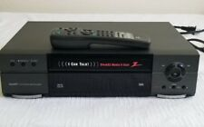 Zenith VRC420 4 Head Hi Fi VCR SpeakEZ VHS Player With Original Remote Tested