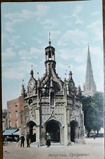 Chichester, Market Cross. Vintage Postcard