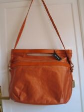 Furla Imagata Orange Document / Messenger Bag