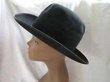 Ladies Vintage Dobbs Westward Black Felt Hat w/ Original Box, Western