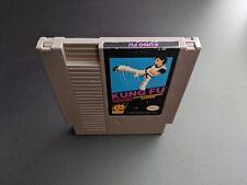 Kung Fu Black Box game Authentic Nintendo NES EXMT condition game cartridge