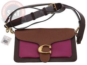 Coach Tabby Shoulder 26 Brown Multi Leather 76105 Shoulder Bag  MSRP $350.00🔥