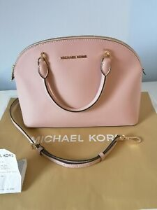Michael Kors Emmy Dome Satchel new with tags RRP £340 blossom pink handbag
