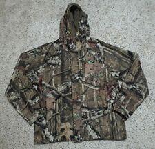80bb948c8c61d Euc Mossy Oak Break Up Infinity Scent Block Control Hooded Camo Hunting  Jacket M