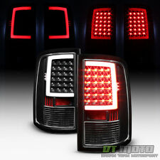 Black 2009-2017 Dodge Ram 1500 10-17 2500 3500 LED Bar Tail Lights Brake Lamps