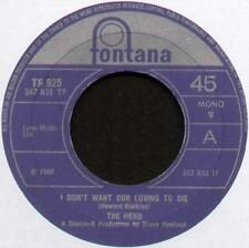 """HERD ~ I DON'T WANT OUR LOVING TO DIE / OUR FAIRY TALE  ~ 1968 UK 7"""" SINGLE"""