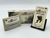 Final Fantasy VI 6 Boxed Nintendo Super Famicom JAPANESE VERSION SFC ref2804