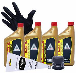 2001 - 2017 Honda Gold Wing GL1800 A B C (Semi Synthetic Blend) Oil Change Kit
