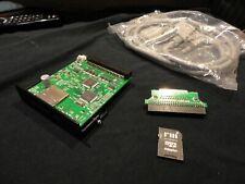 Roland Sampler V6 SCSI2sd SCSI 2 SD SCSI to - Ext Case -10 x CD ROMs 3x4gb cards