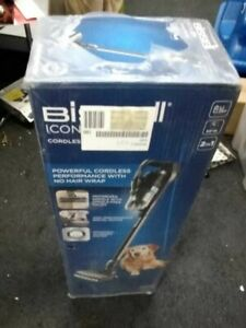 BISSELL Icon Pet 2602E Cordless Vacuum Cleaner - Black & Blue