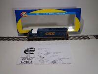 Athearn HO Scale GP38-2/GP40-2 CSX #4430 Locomotive
