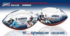 Dallas Cowboys Nfl 100Th Anniversary Legacy Art Football In Stock
