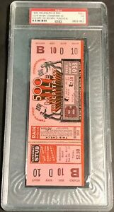 1933 Indianapolis 500 Ticket PSA 3 FULL TICKET L@@K