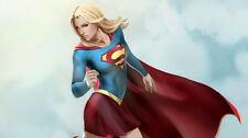Comic Supergirl artwork Silk Poster/Wallpaper 24 X 13 inches