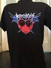 Rare Vtg Krokus 88 Tour Shirt Sz M/L Ratt Rock Vixen Metal Dokken Poison Glam