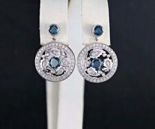 Orecchini con diamanti pendenti farfalline VS1