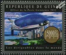 Modern Civilian Concept Airship / Dirigible Passenger Cruise Liner Stamp