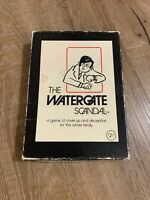 Vintage 1973 The Watergate Scandal Card Game Bluffing Political Humor Deception