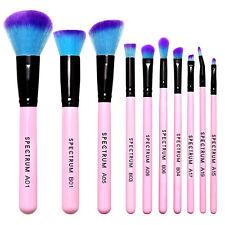 Spectrum- 10 PIECE ESSENTIAL SET - Premium Makeup Brush Set - Super Soft- Pink
