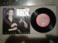 "ABC - Poison Arrow / Alphabet Soup - 7"" single with picture sleeve"