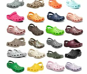 CROCS Classic Clogs UNISEX Men's and Women's Ultra lite Water-Friendly Sandals