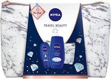 NIVEA Travel Beauty Geschenkset Pflegeset Damen Pflegedusche Kulturtasche