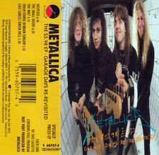 Metallica - The $5.98 EP Garbage Days EP - CASSETTE TAPE - USED - 1987 ORIGINAL
