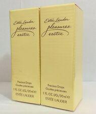 2 x 30 ML Estee Lauder PLEASURES EXOTIC Precious Drops for Women, 2 x 1 fl.oz