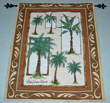 Palm Breeze ~ Palm Trees Tapestry Wall Hanging w/o Rod