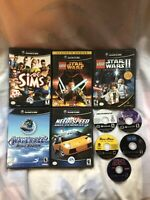 Lot of 10 Nintendo Gamecube Games
