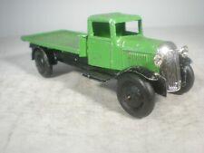 Dinky Toys Flat Truck #25c TYPE 1 OUTSTANDING PREWAR GUARANTEED.