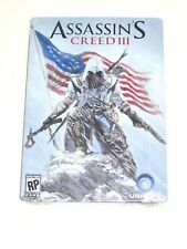 Assassin's Creed 3 III Steelbook New Sealed Case Only Xbox 360 PS3 Rare!