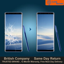 Samsung Galaxy Note 8 LCD OLED Screen Glass Replacement Service Same day Repair