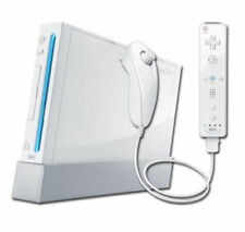Nintendo Wii Glossy Finish Video Game Consoles
